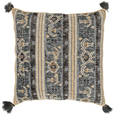 "Surya Zahra Wool 30"" Square Throw Pillow"
