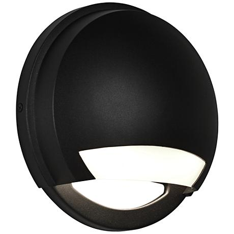 "Avante 8 1/2"" High Black LED Outdoor Wall Light"