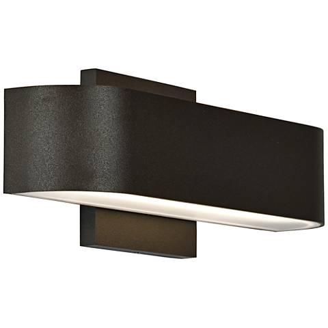 "Montreal 2 1/2"" High Bronze 2-Light LED Outdoor Wall Light"