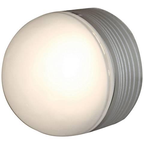 "MicroMoon 5"" High Satin LED Outdoor Wall Light"