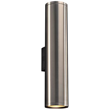 """Marco 23 1/2""""H Brushed Aluminum 2-LED Outdoor Wall Light"""