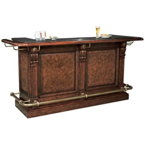 Howard Miller Cheers Hampton Cherry 3 Drawer Bar 9k194 Lamps Plus