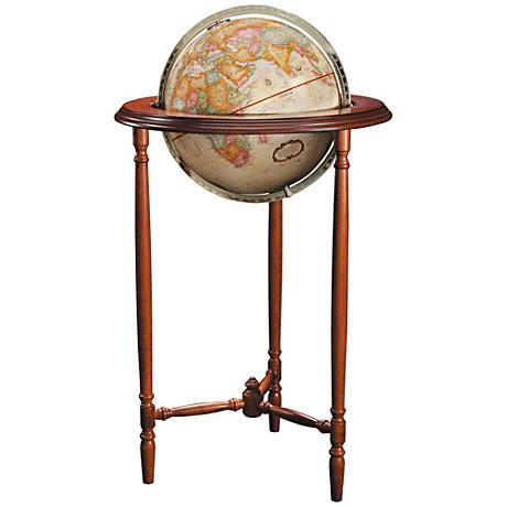 Replogle Saratoga Antique Ocean Standing Globe