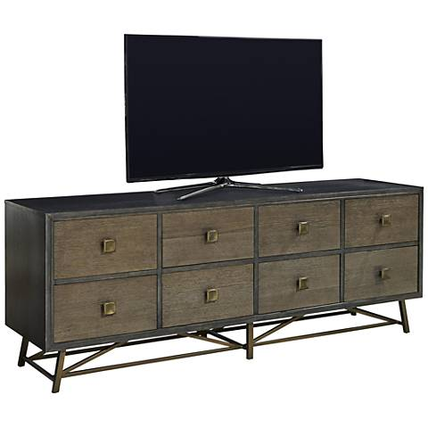 Playlist After Midnight 8-Drawer Entertainment Console