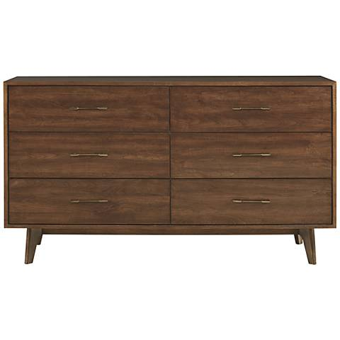 Newbury Townhouse Wood 6-Drawer Dresser