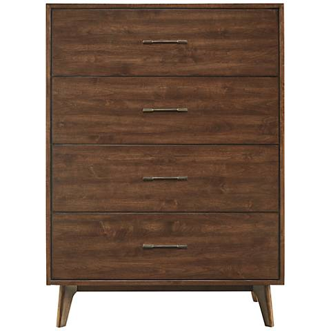 Newbury Townhouse Wood 4-Drawer Chest