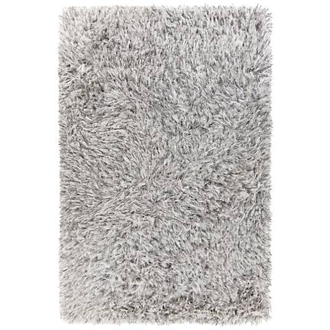 Chandra Onex White Shag Area Rug