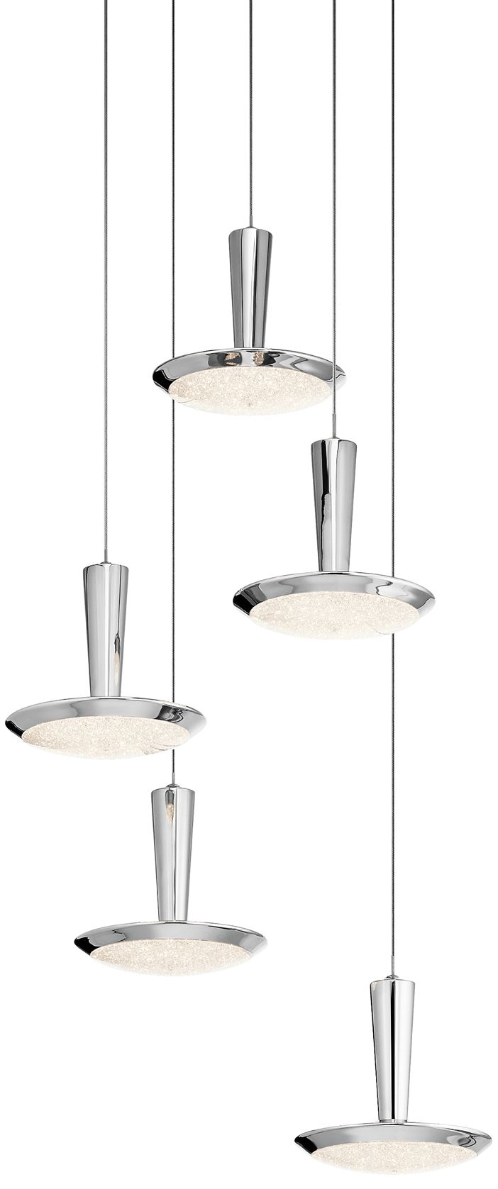 Elan Karah 17 3/4  Wide Nickel 5-LED Multi-Light Pendant  sc 1 st  L&s Plus & Multi Light Pendant Lighting Fixtures | Lamps Plus azcodes.com