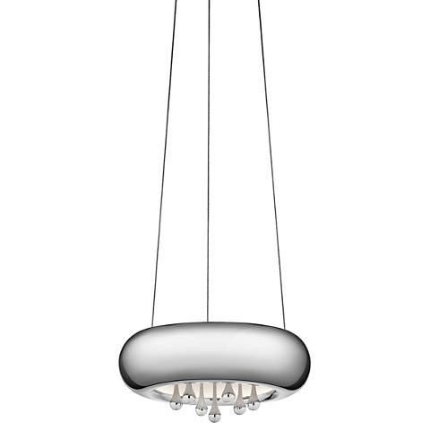 "Elan Lavelle 9 3/4"" Wide LED Chrome Mini Pendant Light"