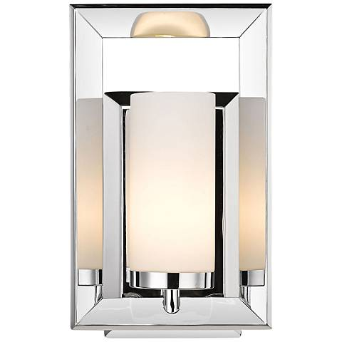 "Smyth II 11 1/4"" Chrome 1-Light Wall Sconce"