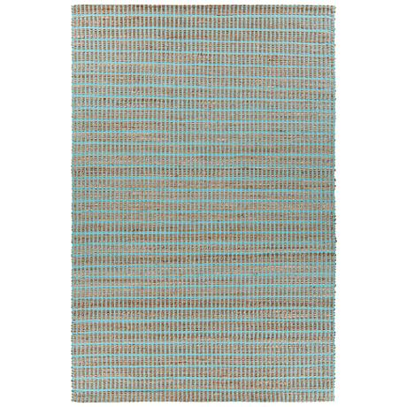 Chandra Abacus Blue Hand-Woven Area Rug