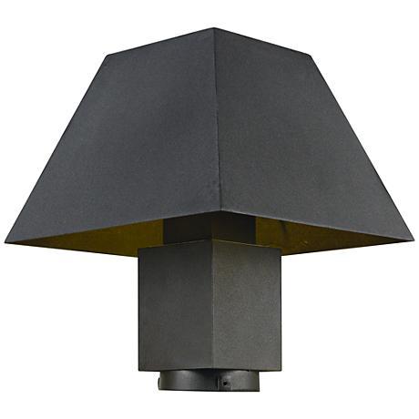 "Maxim Pavilion 11 1/2""H Bronze LED Outdoor Post Light"