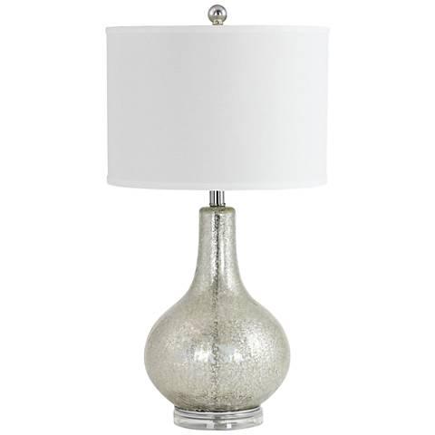Caressa Antiqued Mercury Glass Table Lamp