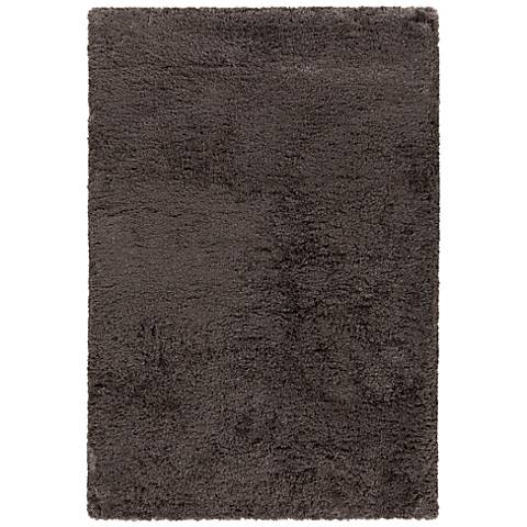 Chandra Osim Brown Shag Area Rug