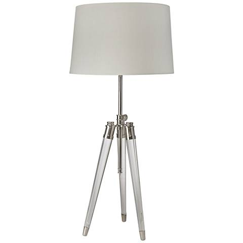Regina Andrew Design Brigitte Nickel Adjustable Table Lamp