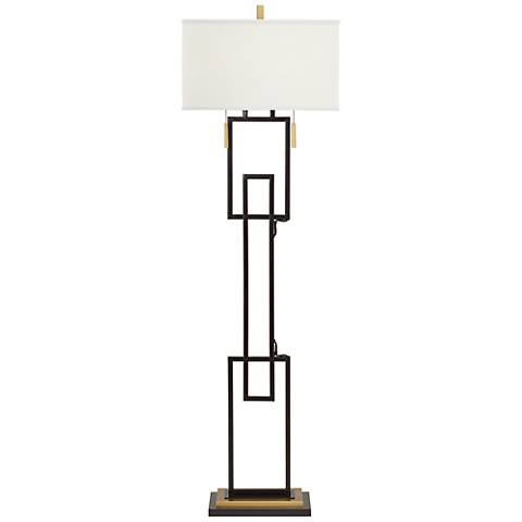 Franklin Iron Works Westmont 2-Light Floor Lamp