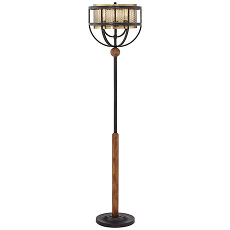 Franklin Iron Works Westin Floor Lamp