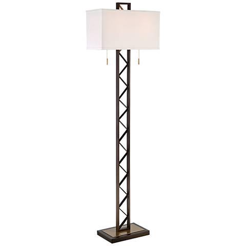 Franklin Iron Works Trellis Floor Lamp