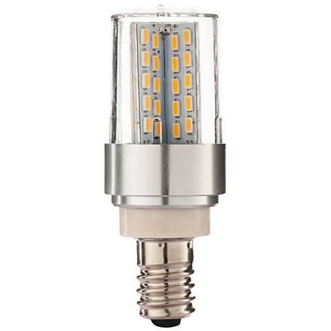 60 Watt Equivalent Clear 6 Watt LED E12 Minican Bulb