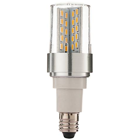 60 Watt Equivalent Clear 6 Watt LED E11 Minican Bulb
