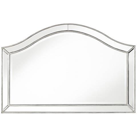 "Heathcliff Arch Top 28"" x 42 1/4"" Wall Mirror"