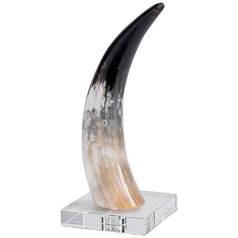Regina Andrew Design Small Horn Accent Sculpture