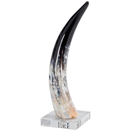 Regina Andrew Design Medium Horn Accent Sculpture