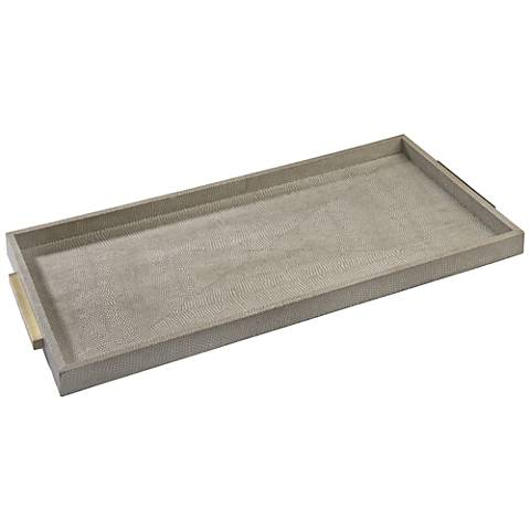Regina Andrew Design Ivory Shagreen Boutique Tray