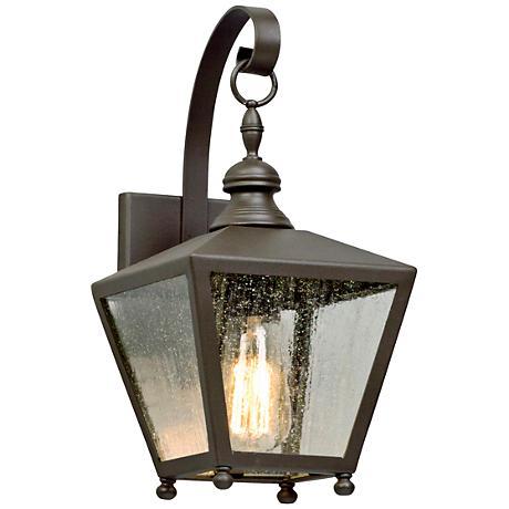 """Mumford 14 1/4"""" High Bronze Outdoor Wall Light"""