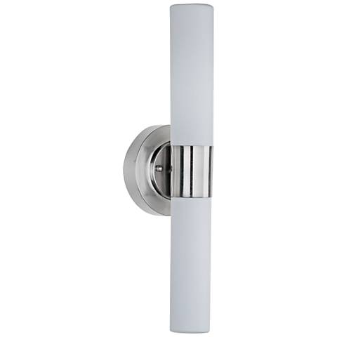 "ET2 Cilandro 19"" High Satin Nickel LED Wall Sconce"
