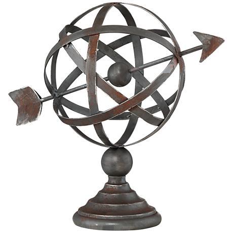 Atom with Arrow Decorative Accent