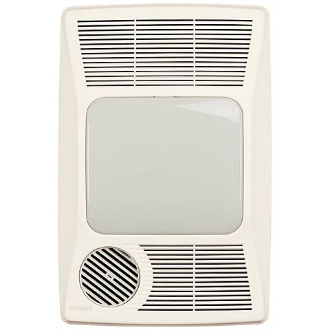Broan-Nutone White Lighted Bath Ventilator Fan/Heater