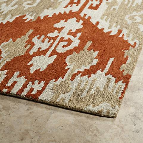 Kaleen Casual Paprika 5055-53 Wool Area Rug