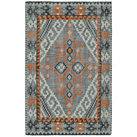 Kaleen Relic Gray RLC01-53 Wool Area Rug
