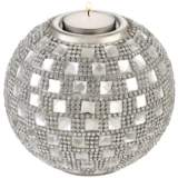 Candelo Crystal Beaded Tealight Candle Holder