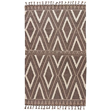 Jaipur Kokoda Wool and Cotton Fringe Area Rug