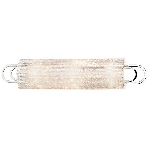 "Hudson Valley Buckley 25"" Wide Polished Nickel Bath Light"