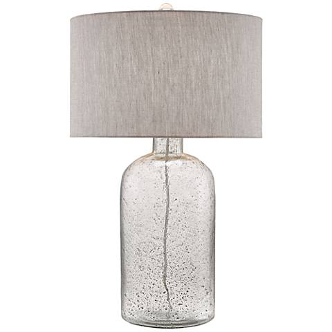 Currey and Company Lambeth Speckled Glass Vase Table Lamp