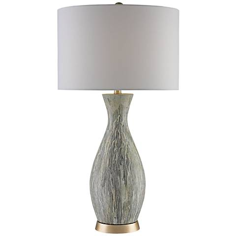 Currey and Company Rena Light Drip Green Table Lamp
