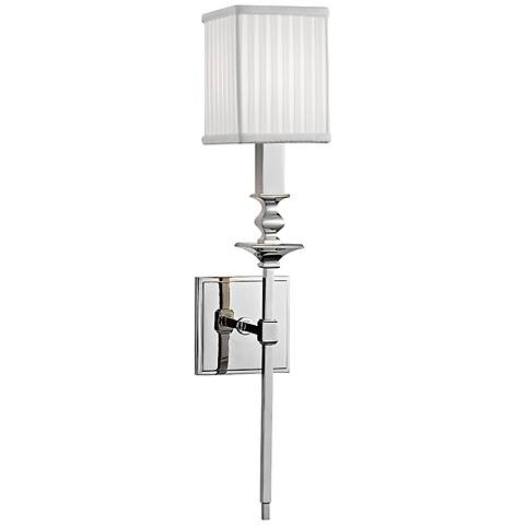 "Hudson Valley Towson 21 1/2""H Polished Nickel Wall Sconce"