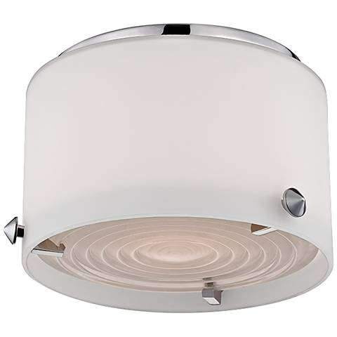 "Blackwell 6"" Wide Polished Nickel LED Ceiling Light"