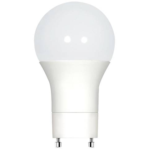 60W Equivalent Frosted 9.5W LED Dimmable GU24 Bulb