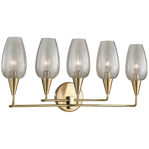 Arteriors Home Yale 24 Quot High Antique Brass Wall Sconce