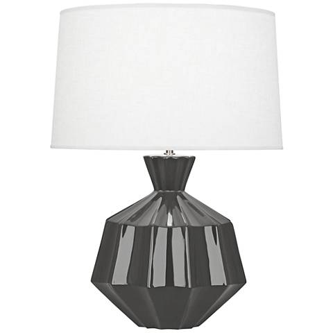 Robert Abbey Orion Ash Ceramic Table Lamp