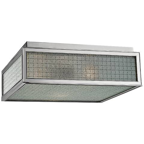 "Hudson Valley Freemont 14""W Polished Nickel Ceiling Light"