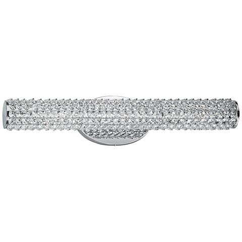 "Maxim Meteor 23"" Wide Polished Chrome LED Bath Light"