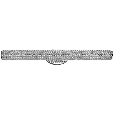 "Maxim Meteor 36"" Wide Polished Chrome LED Bath Light"