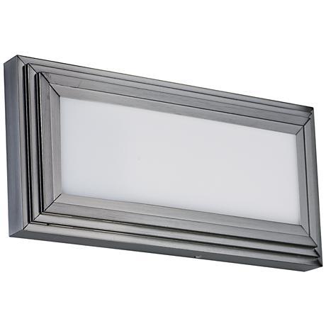"Maxim Picazzo 18"" Wide Satin Nickel LED Bath Light"