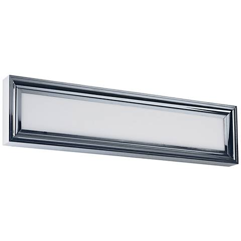 "Maxim Rembrant 24"" Wide Polished Nickel LED Bath Light"
