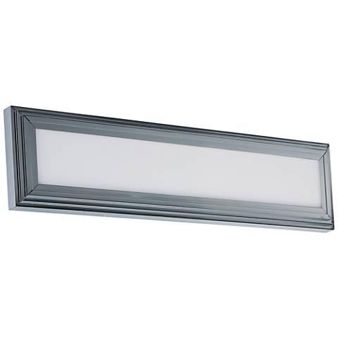 "Maxim Picazzo 24"" Wide Polished Chrome LED Bath Light"